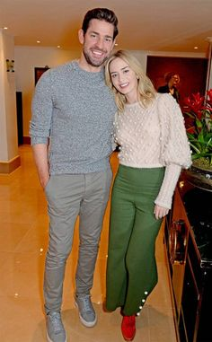 John Krasinski & Emily Blunt: The Big Picture: Today's Hot Photos Celebrity Couples, Celebrity Style, John Krasinski Emily Blunt, Tom Hanks, Big Picture, Cute Photos, Hottest Photos, Actors & Actresses, Work Wear