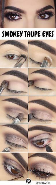 Tips Collection: Smokey Taupe Eye Makeup
