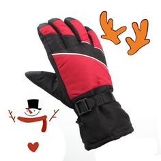 Christmas gift outdoor ski gloves/snowboard gloves/ heated gloves #gloves_ski, #Christmas_Gifts