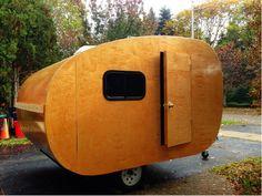 wood camper