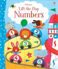 With over 90 flaps to lift, this charming book helps children learn about numbers in a fun way. There are counting, matching, ordering, sequencing and adding activities, and lots for pre-readers to talk about too.