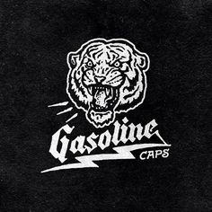 I had a great time working with Edwin Tofslie on the rebrand of his company Gasoline Caps. They specialize in vintage ball caps revolving around gasoline culture which made for a really great aesth. Typography Logo, Logos, Typography Design, Design Art, Logo Design, Branding Design, Types Of Lettering, Badge Design, Graphic Design Illustration