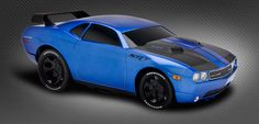 Customizable toy car @ RIDEMAKERZ! Dodge Challenger - Blew by You. Build the 21st Century muscle legend!