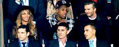 Beyonce Jay & David Beckham At PSG v Barcelona Match 30.09.2014
