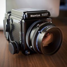 Mamiya RZ67 Pro II with Sekor Z 110mm f/2.8 W and film back