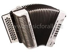NEW Hohner Corona Xtreme II Tex-Mex 3 Switch Accordion with Gig Bag, Straps -  Key EAD/MI, White Pearl - Make Offer - Free Ship to USA - Cheap Worldwide Shipping! http://stores.ebay.com/music-for-all-03   http://www.musicforall.biz/