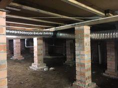 Sub Floor Ventilation Sydney - Mould Removals Sydney Rising Damp, Cross Flow, Concrete Slab, Timber Flooring, Old Houses, Garden Tools, Sydney, How To Remove, Building