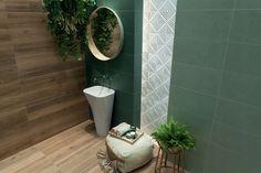 TOUCH 29,8x59,8 Płytki Tubądzin - Dostawa cała PL. 9058079012 - Allegro.pl Marble Tiles, Wall Tiles, Bathroom Interior, Home Renovation, Powder Room, Toilet Paper, Tile Floor, Home Improvement, New Homes
