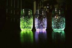 glow jars diy #glowjarsdiy