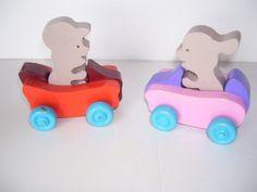 Bob and Betsy Bobsy with Bobsy cars