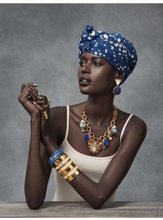 Ajak Deng for MIMCO pieces by Christian Blanchard