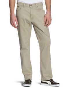 Wrangler Texas stretch broek kleur Camel € 74,95