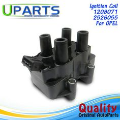 UPARTS Ignition Coil For Opel Omega Astra Calibra Vectra A B G F/Vauxhall Astra Mk 3 4 Calibra Cavalir 06A905097 Ignition Coil, Small Engine, Omega, Poland