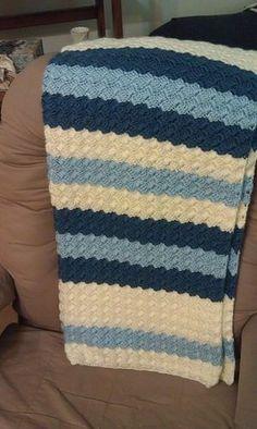Effortless bébé Blanket Modèle de crochet