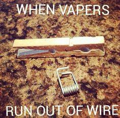 Vapers be like... :)