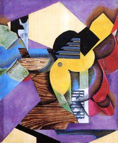 Guitar by Juan Gris - OilPaintings.com