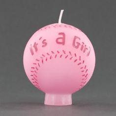 softball candle