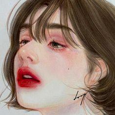 @phumyhung_1609 10.0k Follower, 1 Đang follow, 152.0k Lượt thích - Xem những video ngắn tuyệt vời được tạo bởi 𝙿𝙼𝙷_Music sad Face Aesthetic, Aesthetic Art, Aesthetic Anime, Illustration Art Drawing, Art Drawings Sketches, Art Anime, Anime Art Girl, Chino Anime, Girl Face Drawing