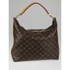 Louis Vuitton Monogram Canvas Sully MM Bag