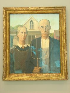 Grant Wood: American Gothic, 1930