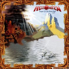 Helloween - Keeper  Of The Seven Keys Part 2 animated cover artwork by www.animatedcovers.com