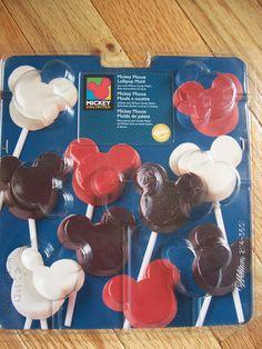 Wilton MICKEY MOUSE EARS Lollipop Mold..Disney..Wilton 2114-3601 NEW IN PKG!! | eBay