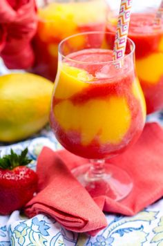 Skip To Recipe Its no secret that I love a good summer drink. Growing up, strawberry daiquiris (virgin, of course) were my drink of choice when I would go out to dinner with my parents. I still love them now! I dont love using the frozen drink concentrates for them, if at all possible. I...