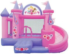 These inflatable games will enliven and bring a touch of originality to your event, full of unforgettable moments spent all together Disney Princess Bedroom, Disney Princess Castle, Blow Up Water Slide, Princess Tower, Cardboard Box Crafts, Cardboard Castle, Unicorn Themed Birthday Party, 5th Birthday, Unicorn Iphone Case