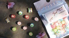 パパブブレから桜シーズン限定キャンディ「桜ミックス」ラベルに日本画 | ファッションプレス