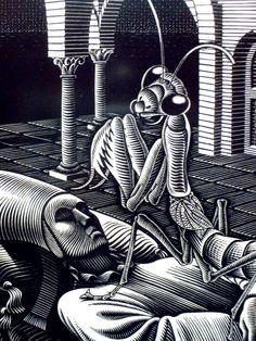 by MC Escher ~Repinned Via Hubert Wedell http://www.sharenator.com/MC_Escher/