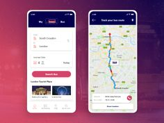 MyBus is a online bus ticket booking app in Android and iPhone for bus transportation services. Bus Tickets, Online Tickets, Mobile Application Development, App Development, Tourist Places In London, Track Bus, Bus App, Mobile App Design, Mobile Ui