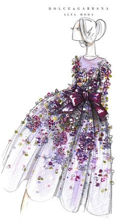 "Love these colours and florals......sumptuousfete: "" (via Pin by Dee Musiel on Fashion Illustration 