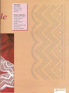 Labores bolillos 4 - fleursdebleuets - Álbumes web de Picasa
