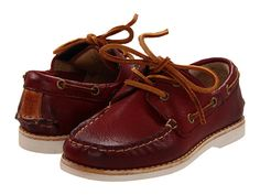Frye Kids Sully Boat (Toddler) Bordeaux - Zappos.com Free Shipping BOTH Ways