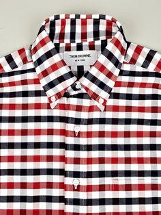 Thom Browne button down shirt a/w 2012