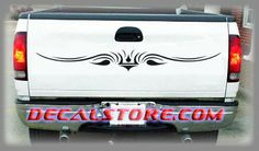#Tailgate Graphics 043 add style to the rear of your truck, suv or car. Measure the width of your tailgate or trunk to determine the correct size for your vehicle tailgate trunk decals. http://www.decalstore.com/Tailgate-Graphics-043-P663.aspx