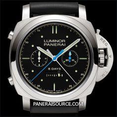 PAM 530 Panerai Luminor 1950 8 Rattrapante Days Titanio - Specialties PAM00530