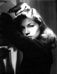 Lauren Bacall. Photo by John Engstead, 1945.