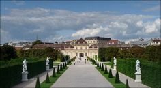 Lower Belvedere, Vienna - The original design envisioned the Belvedere as a garden palais. The architect Johann Lucas von Hildebrandt was commissioned by Prince Eugene of Savoy in 1714 to build the palace. (Photo: Maximilian Just)