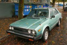 1981 Honda Accord Sedan.