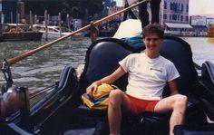 de gôndola no Grande Canal - Veneza - It
