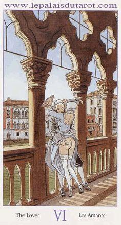 Le Tarot de Casanova A travers