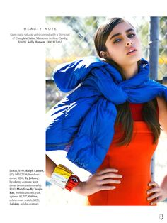 team player: taylor marie hill by christopher ferguson for elle australia april 2014 | visual optimism; fashion editorials, shows, campaigns & more!