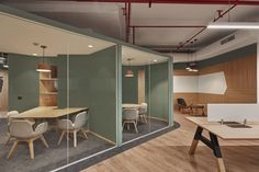 Office Tour: Nomura Research Institute Offices Phase 3 – Gurugram, – Office Design 2020 Workspace Design, Office Interior Design, Office Interiors, Home Office, Office Decor, Corporate Office Design, Corporate Offices, Architecture Office, Futuristic Architecture