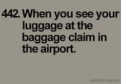 HaHa!...my biggest fear is not a plane crash, it's the airline losing my luggage!