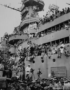 USS Missouri, V-J Day