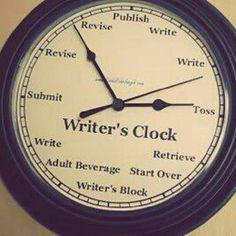 Writer's Clock.