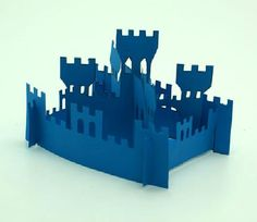 PAPERMAU: Easy-To-Build Medieval Castle Papercraft For Kids - by Childtopia