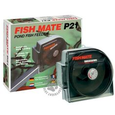 The Fish Mate Pond Fish Feeder will dispense food daily over a period of several hours for approximately 21 days. Automatic Fish Feeder, Different Fish, All Fish, Aquaponics System, Hydroponics, Small Ponds, Sustainable Food, Daily Meals, Go Green