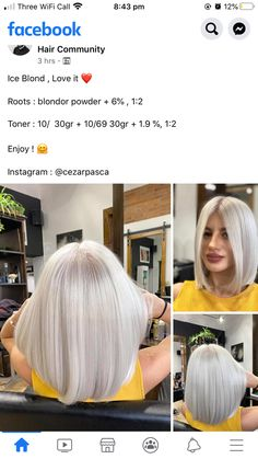 Hair Color Formulas, Hair Color Techniques, Blonde Color, Hair Painting, Dream Hair, Pixie Hairstyles, Hair Pictures, Hair Inspo, Hair Colors